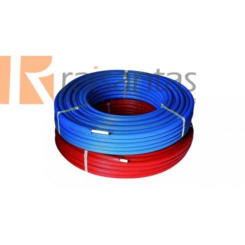 HENCO daugiasluoksnis vamzdis RIXc izoliaciniame kevale mėlynas 16x2 (100m)