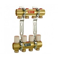 Reguliuojamas kolektorius su balansiniais ventiliais