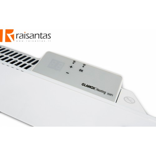 Programuojamas skaitmeninis termostatas GLAMOX heating H40/H60 WT White: