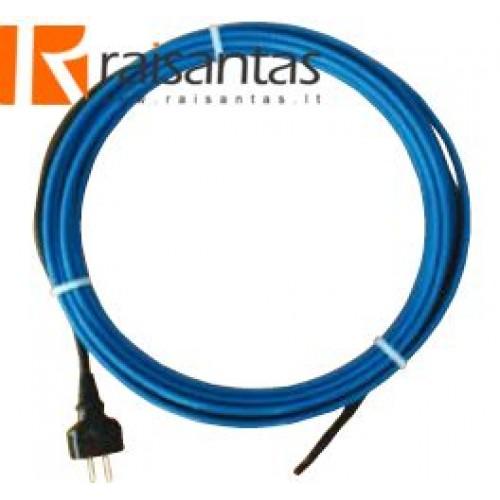 Savireguliuojantis šildymo kabelis apsaugai nuo užšalimo (su pajungimo laidu ir kištuku) 2 m