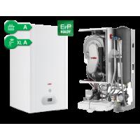 Radiant dujiniai katilai su integruotu vandens šildytuvu